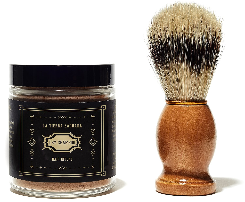 La Tierra Sagrada - All Natural Dry Shampoo (Brunette | With Brush) by La Tierra Sagrada