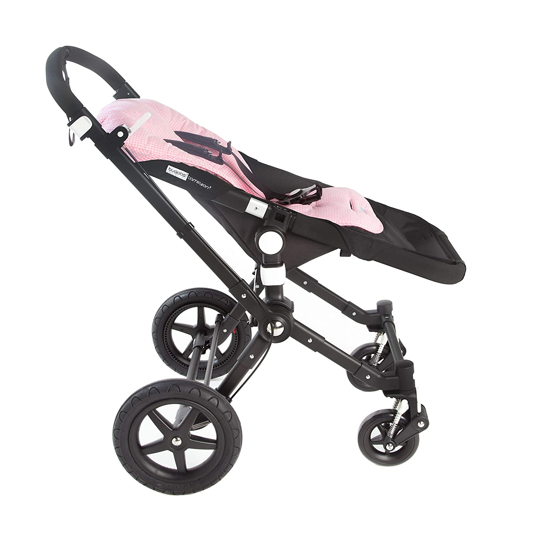 Le Petit Beurre Siztauflage f/ür Bugaboo Kinderwagen Sommer Sitzeinlage 100/% Bio-BaumwolleBuggy Sitzschale Kindersitz