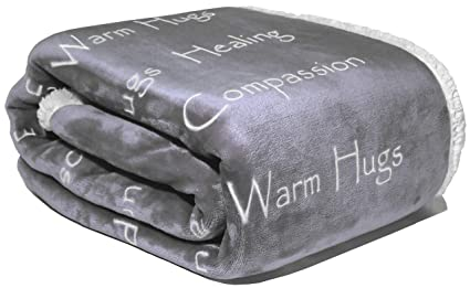 WOLF CREEK BLANKET - Compassion Blanket - Cancer Gift Blanket Get Well  Gifts for Women Men c0446ae805