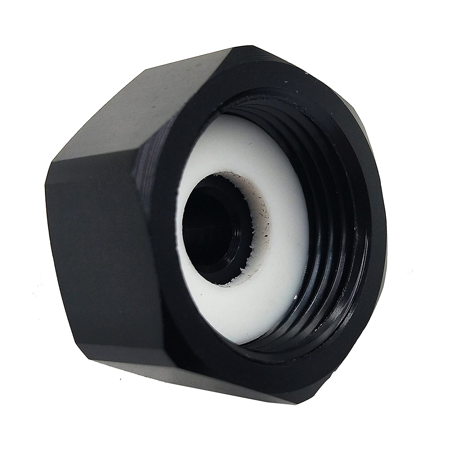 Dracary Black, 4AN Nitrous Bottle Nut Adapter With Washer