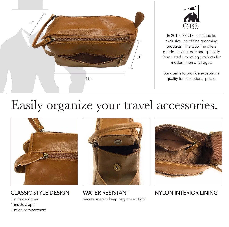 bb957d40c3e3 GBS Men's Beard Grooming Doppler Kit- Travel Bag Includes Boar Bristle  Beard Brush, Beard Shaping...