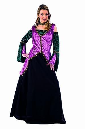 Limit Sport MA054 Gr. M - Disfraz de princesa medieval para mujer ...