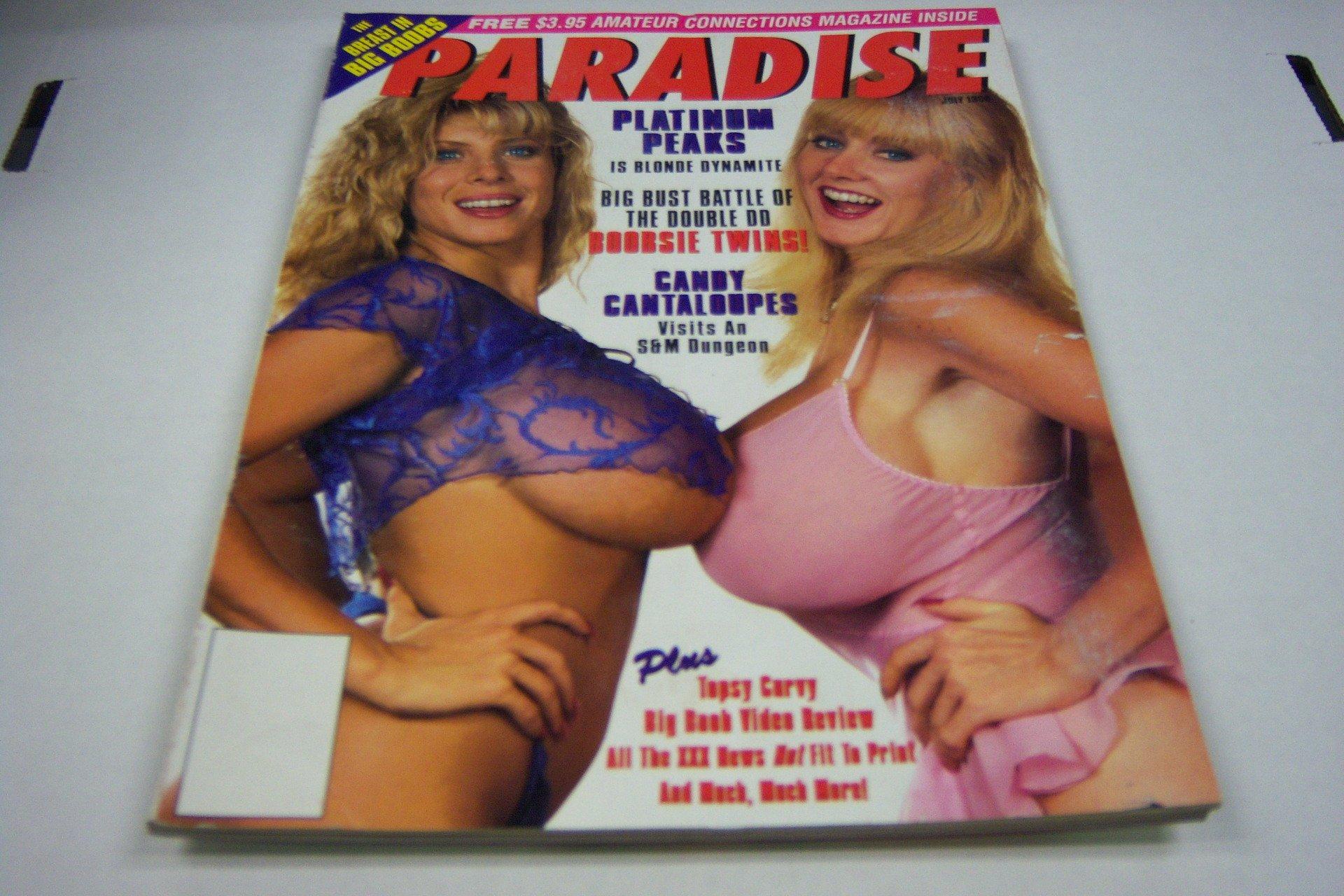 Paradise Busty Adult Magazine Kayla Kleevage July
