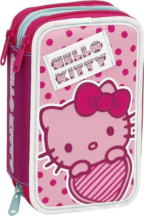 Giochi Preziosi - Hello Kitty Estuche con Colores triples ...