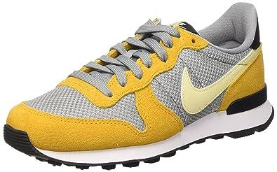 half off fdb7e 06c9b ... Nike Damen Wmns Internationalist Trainingsschuhe, Multicolore (Gold Leaf Lemon  Drop-Stealth) ...