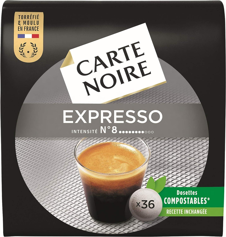 Dosettes de café Carte Noir compatible Senseo  en promotion
