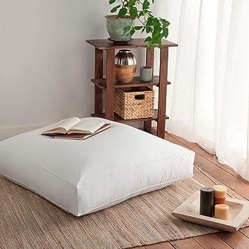 large ottoman cover dp inch x al floor cushion ac meditation elephant amazon indian mandala com pillow