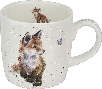 Wrendale Born to Be Wild Fox Tasse