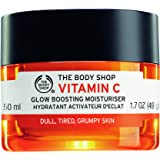 The Body Shop Vitamin C Glow Boosting Moisturizer, Paraben-Free Face Cream, 1.7 Oz.