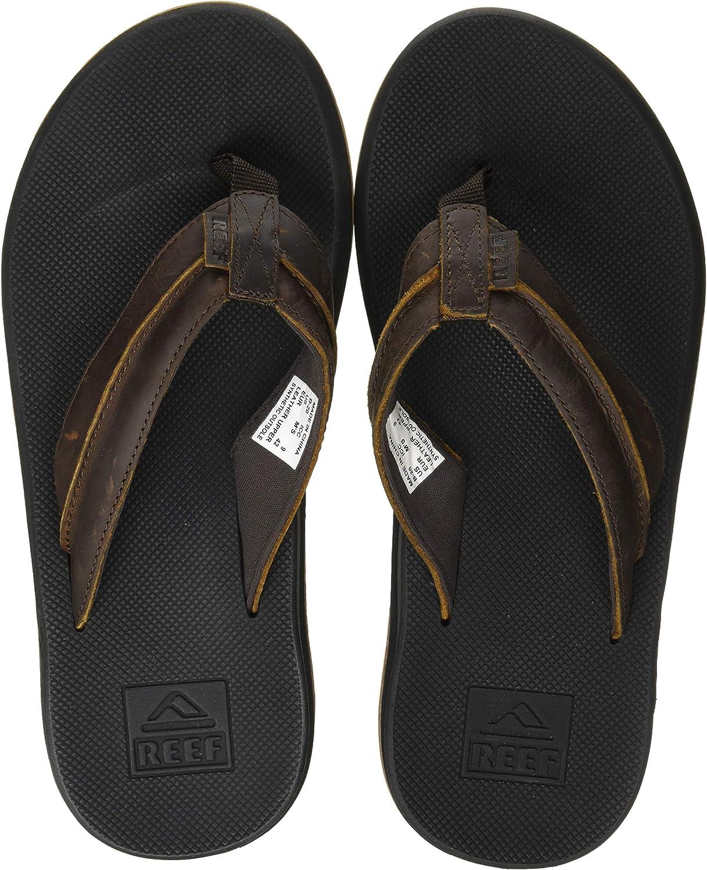 Reef Men's Sandals Leather Element TQT