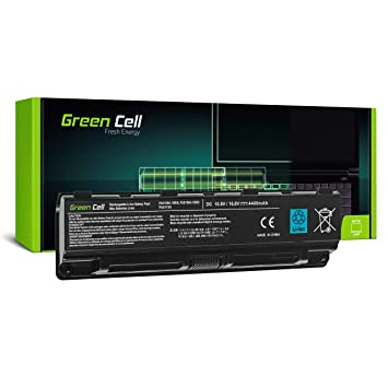 Green Cell® Standard Serie PA5109U-1BRS Batería para Toshiba Satellite C50 C50D C50t C55 C55D C55t C70 C70D C75 C75D L70 P75 C50-A C50D-A C55D-A C55-A ...