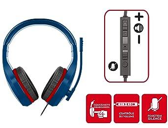 PSG Paris Saint Germain Auriculares gaming accesorio PS4, PS4 Pro, Xbox One, PC: Amazon.es: Videojuegos