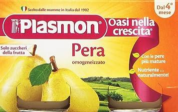 Plasmon Omog Pera 2x104g