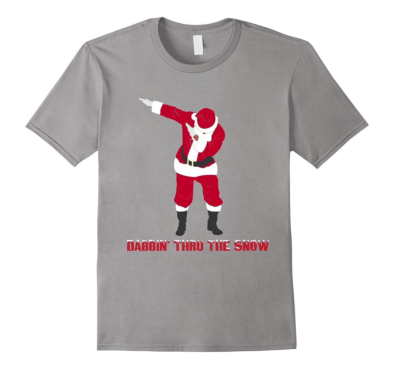 Christmas Dab T-Shirt Dabbing Santa Hip Hop Dance-T-Shirt