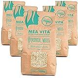 5kg Premium Quinoa Samen Weiss MeaVita 5000g