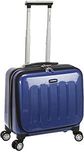 Rockland Revolution Hardside Rolling Computer Case, Blue, Carry-On 17-Inch