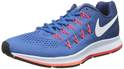 9d6e8e1d91aa NIKE Men s Air Zoom Pegasus 33 Running Shoes  Amazon.co.uk  Shoes   Bags