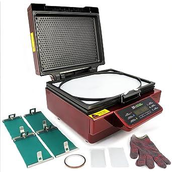 PixMax - Prensa Térmica 3D Roja para Sublimación sobre Tazas ...