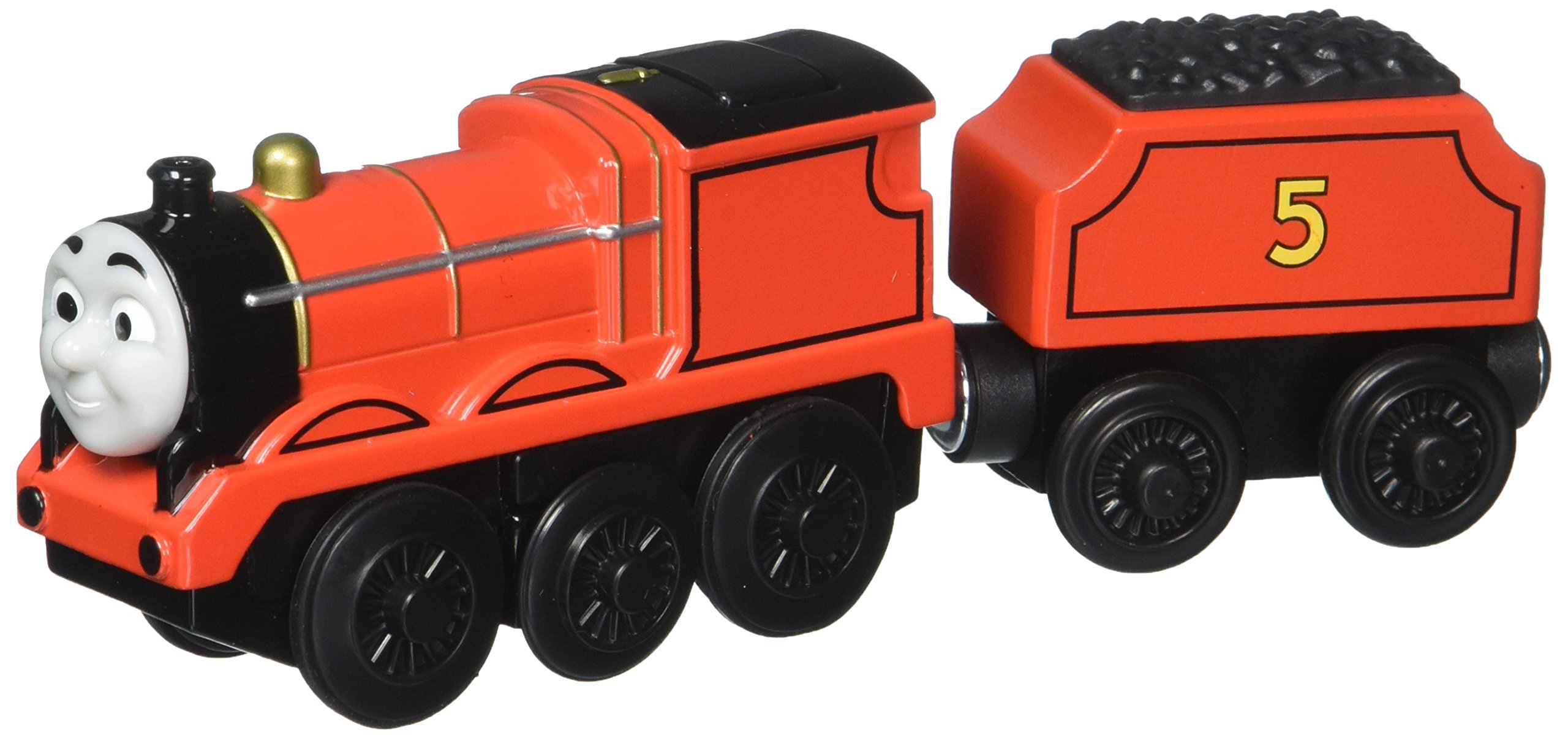 Thomas & Friends Fisher-Price Wooden Railway, James - Battery Operated
