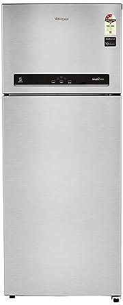 Whirlpool 465 L 3 Star Inverter Frost-Free Double-Door Refrigerator (IF 480 (3S), Alpha Steel)
