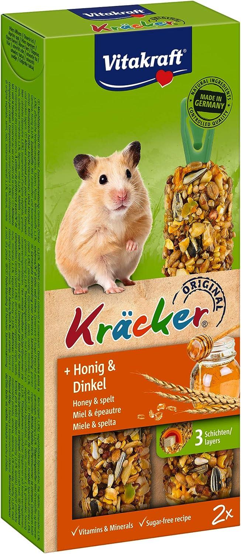 Vitakraft 25152 - Kräcker de Miel Hamsters P/2