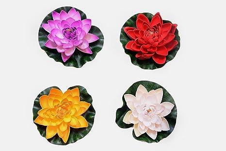 Buy Lotus Flower Artificial Deepawali Decor Item Online At Low