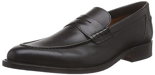 Lottusse Mocasines Clásicos Negro EU 45: Amazon.es: Zapatos y complementos