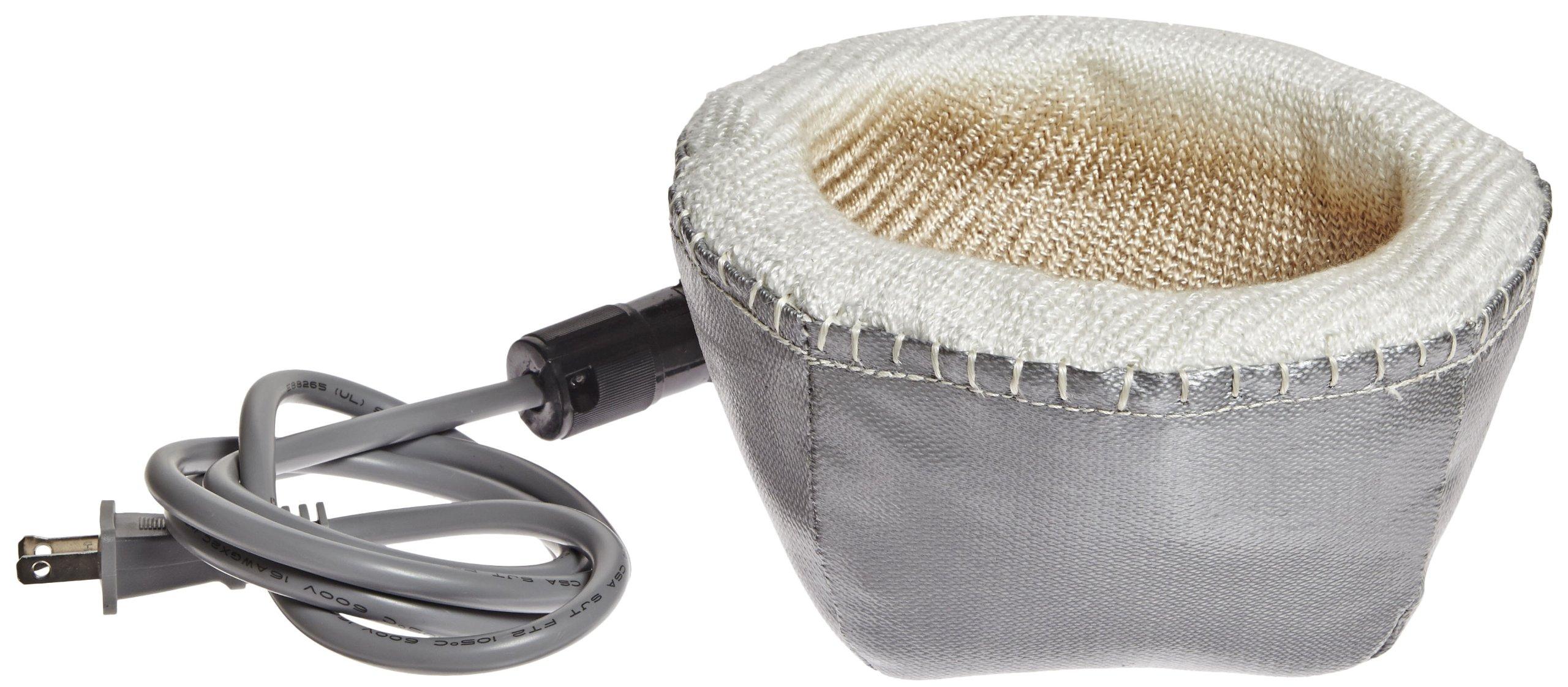 Glas-Col 100A O408 Series O Fabric Hemispherical Mantle, 1000ml Flask Capacity, 115V