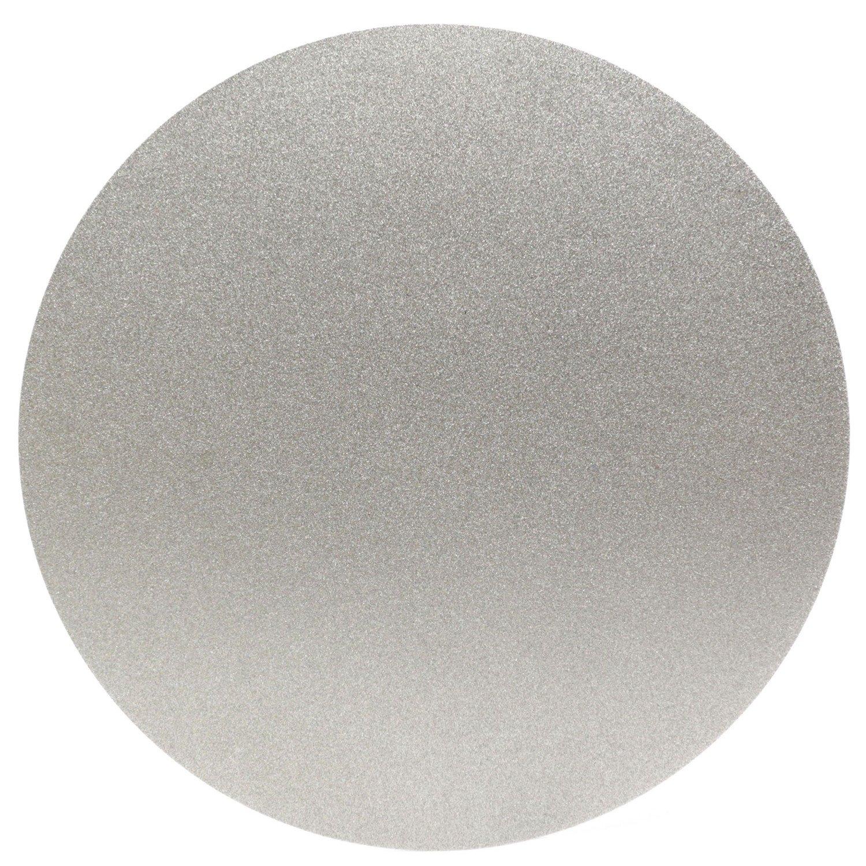 ILOVETOOL 8 inch Diamond Grinding Wheel 120 Grit No Hole Flat Lap Disc Stone Tools