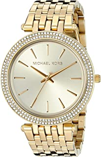 20176bcece18 Amazon.com  Michael Kors Women s Darci Gold-Tone Watch MK3295 ...