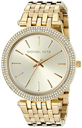 7216537ffec81 Amazon.com  Michael Kors Women s Darci Gold-Tone Watch MK3191 ...