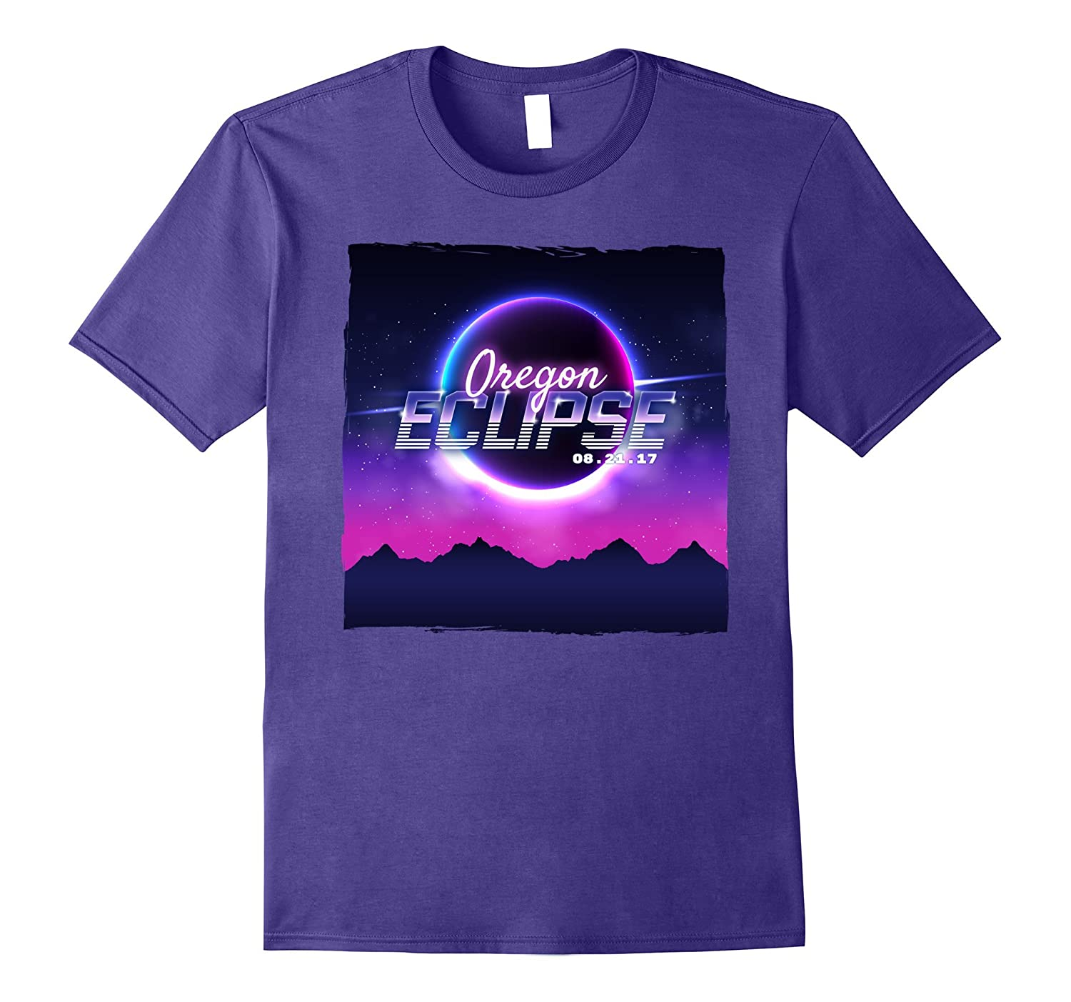 Vintage Oregon Solar Eclipse 2017 T-shirt-Art