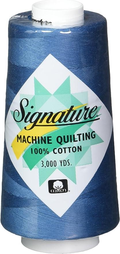 Signature Cotton Quilting Thread Solids Stone Blue 3000 yd