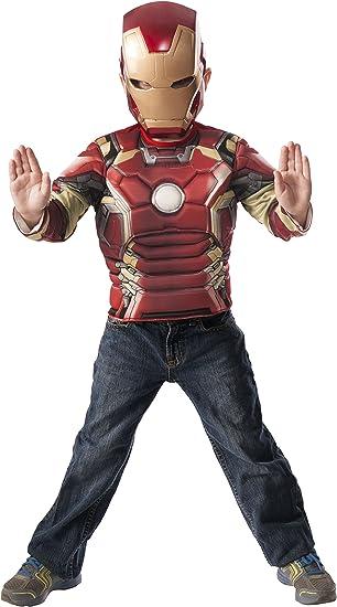 Avengers - Iron Man Age of Ultron, pecho musculoso y máscara de ...