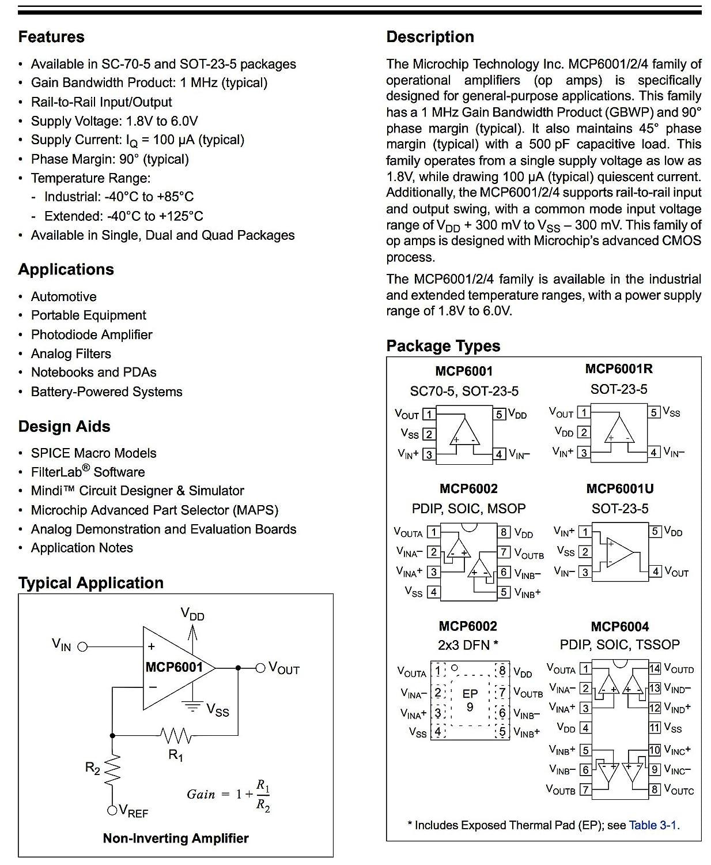 50pcs MCP6002-I//P MCP6002 IC Chip DIP-8