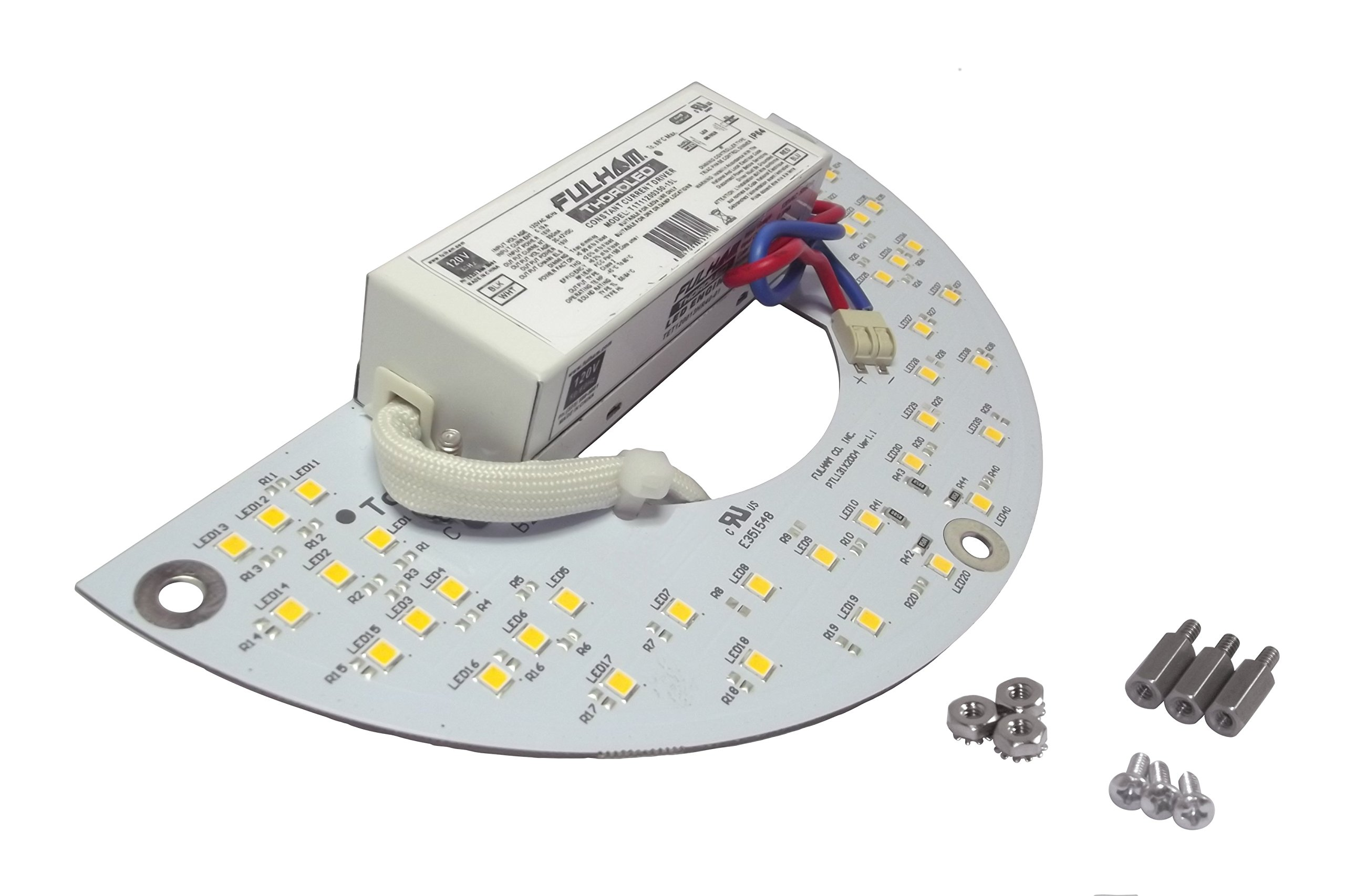 Fulham Lighting WH8-230-L Workhorse 8-Versatile Fluorescent Ballast-Instant Start-230V-Linear Model w/Side Leads Electronic