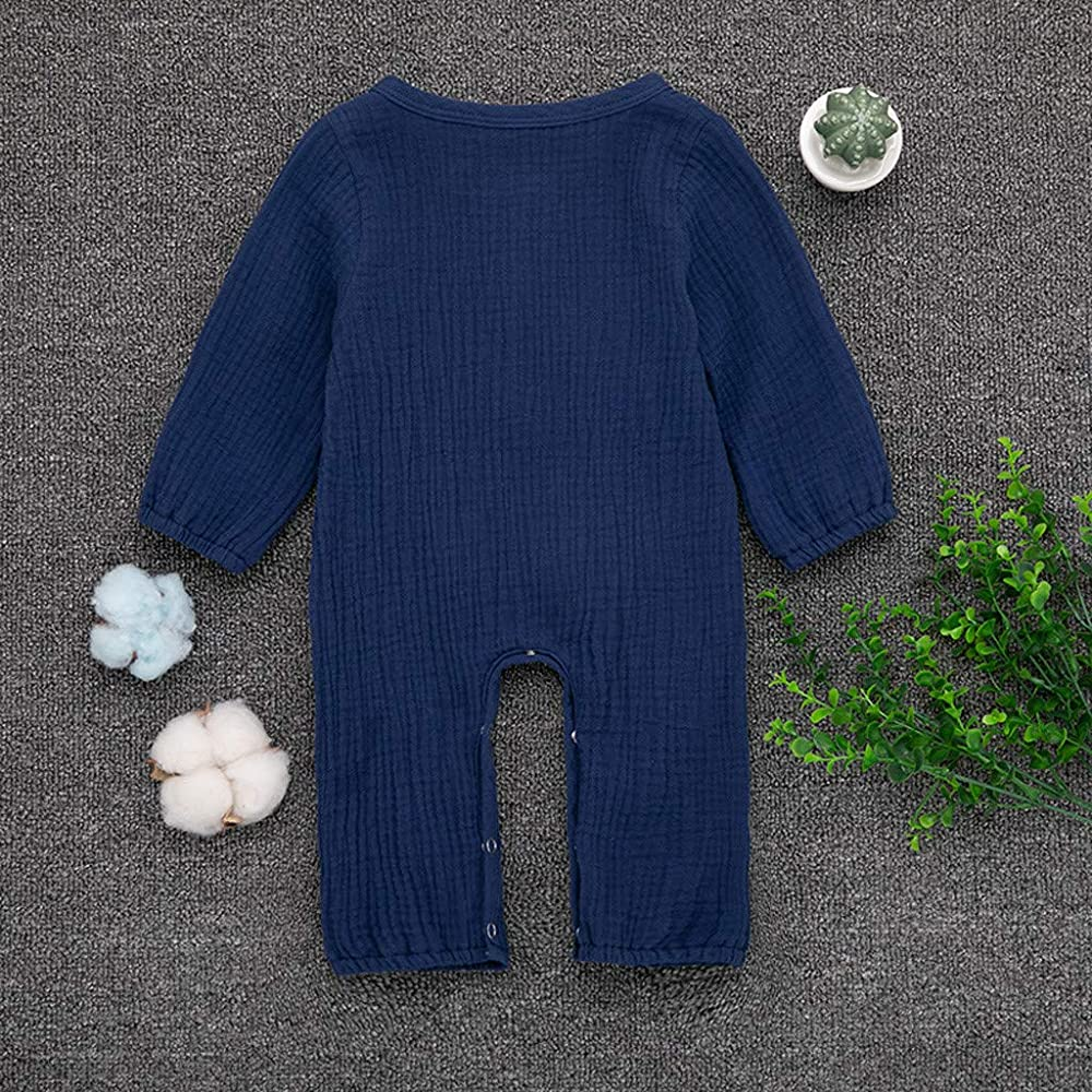 Amuse-MIUMIU - Mono de algodón para bebé (Manga Larga) Azul Azul 6 ...