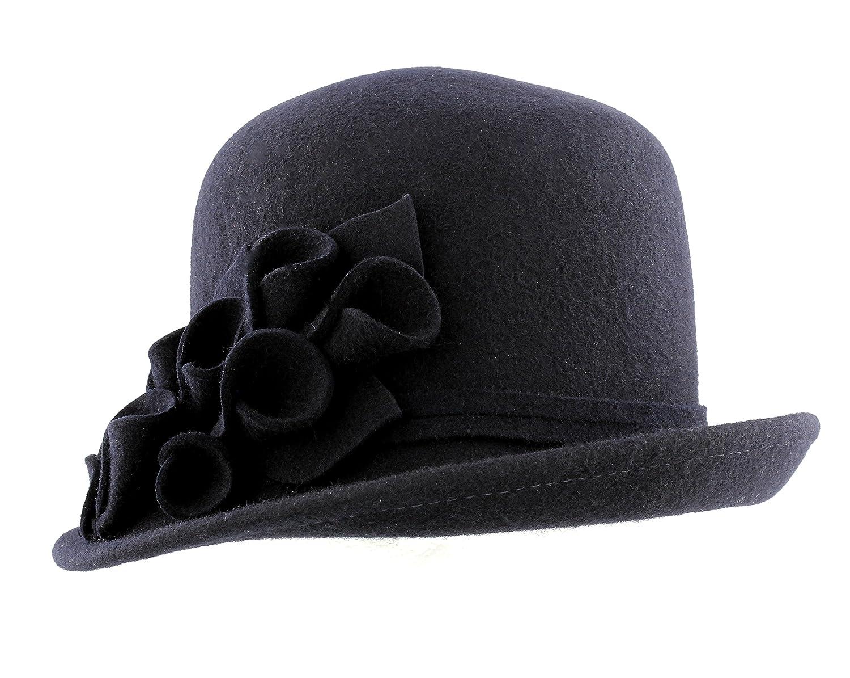 Wool Cloche Hat From Whiteley Fischer DB5026