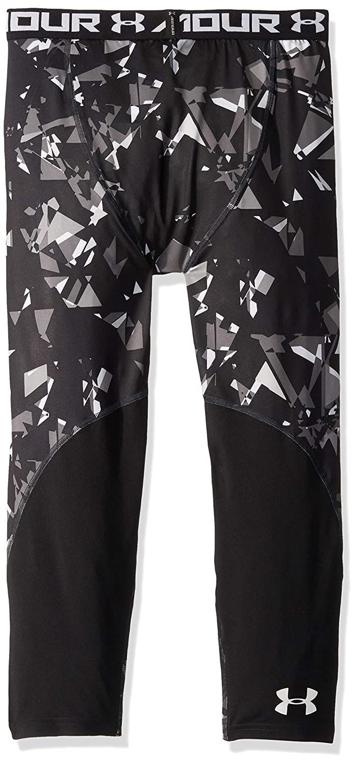 Amazon.com : Under Armour Boys HeatGear Armour ¾ Printed Leggings : Sports & Outdoors