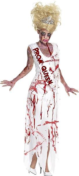 Smiffys - Disfraz de Zombi Prom Queen para Mujer, Talla S (354643 ...