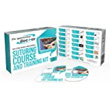 Suture Practice Kit with Suturing How-to Guide Designed by Medical Professionals for Medical Students to Practice and Perfect Suturing Techniques and Knot Tying Skills – The Apprentice Doctor