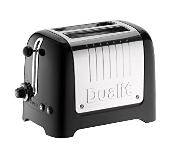 Dualit 2 Slot Lite Toaster 1 1 kW Black Amazon