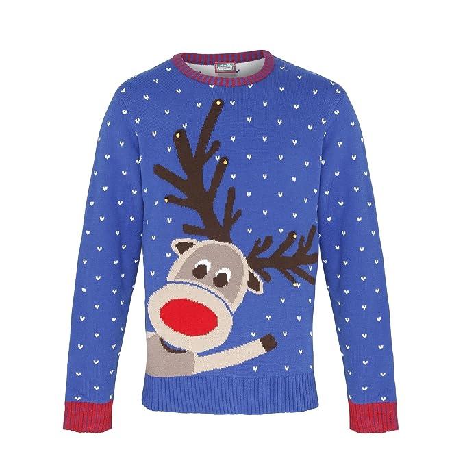 grande vendita bbbe7 a16f3 Christmas Shop - Maglione Natalizio con Renna - Adulti/Unisex