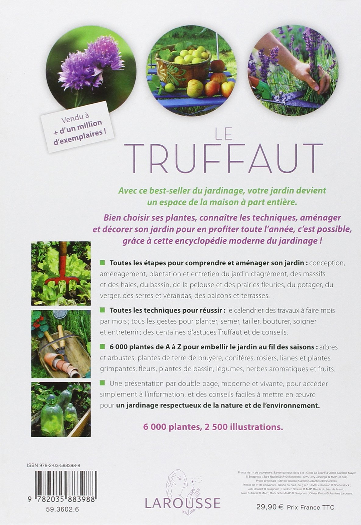 Amazon.fr - Le Truffaut - La bible illustrée du jardin - Collectif ...