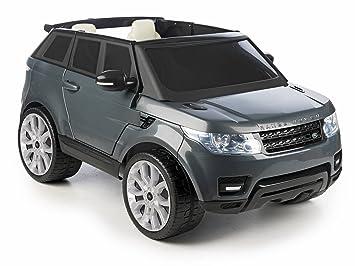 FEBER - Range Rover Sport 12 V Coche, Color Gris (Famosa 800009250)