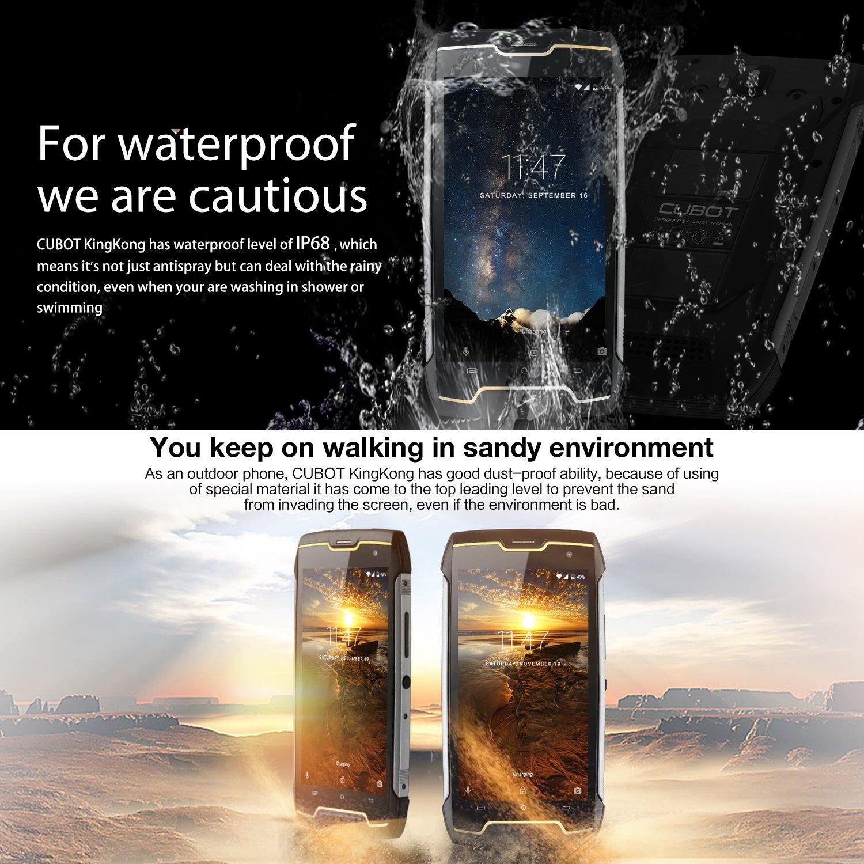 488afd4466 CUBOT King Kong (2018) IP68 Waterproof - TiendaMIA.com