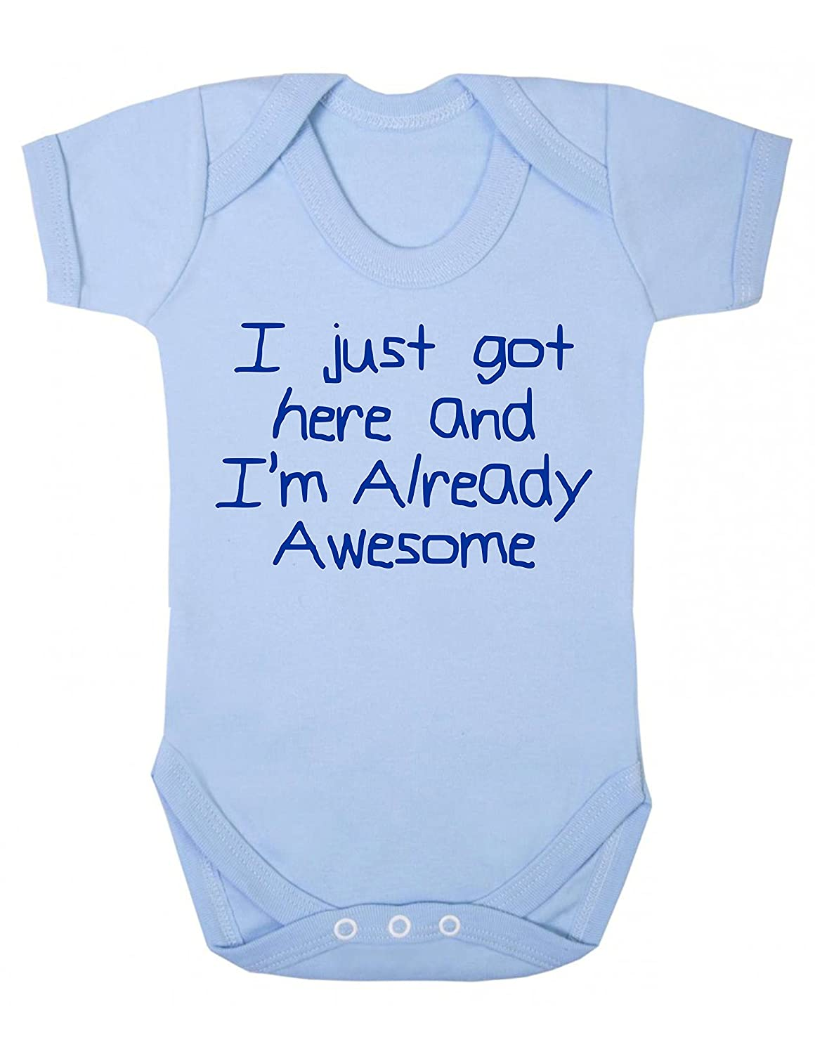Bullshirt Already Awesome Short Sleeve Babygrow