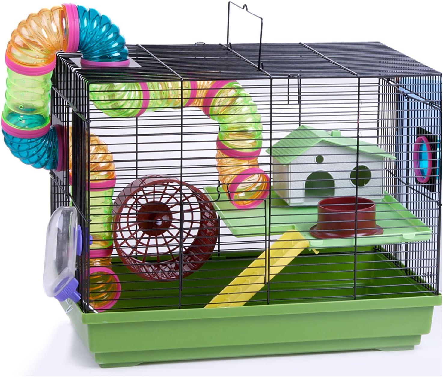 Charlie WorldStores – hámster Jaula Interior Alimentos Plato Escalera Tubos Nuevo: Amazon.es: Productos para mascotas