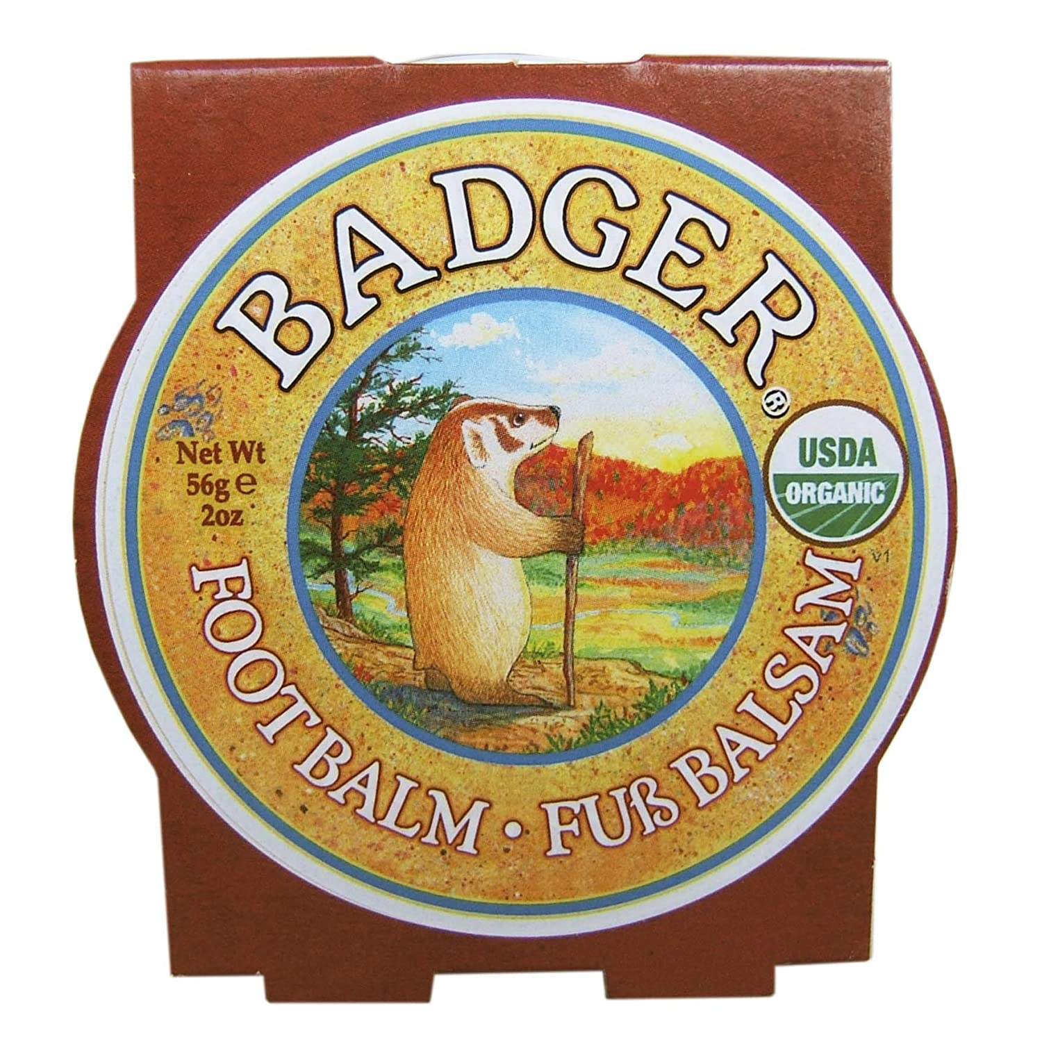 Badger Balms Foot Balm 56 Grams 566794