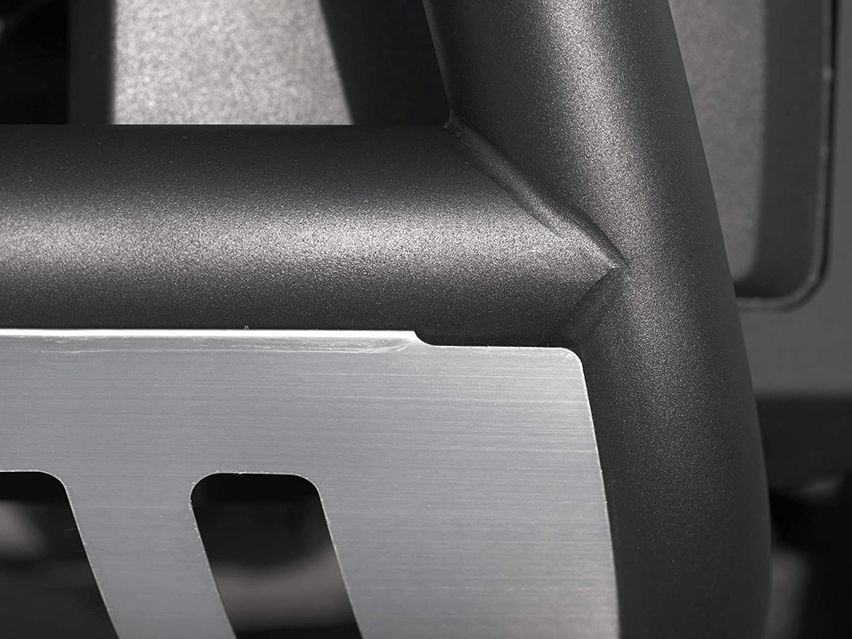 Armordillo USA 7143708 Classic Bull Bar 1999-2006 GMC Sierra 2500//3500 Matte Black W//Aluminum Skid Plate